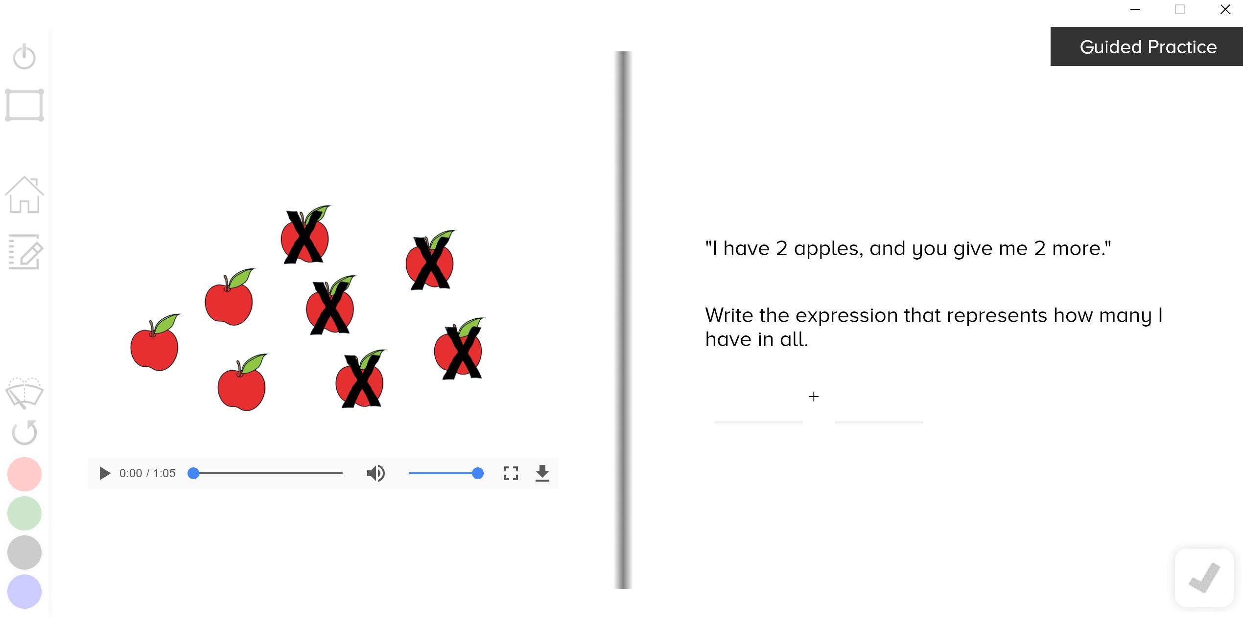 guzinta math expressions