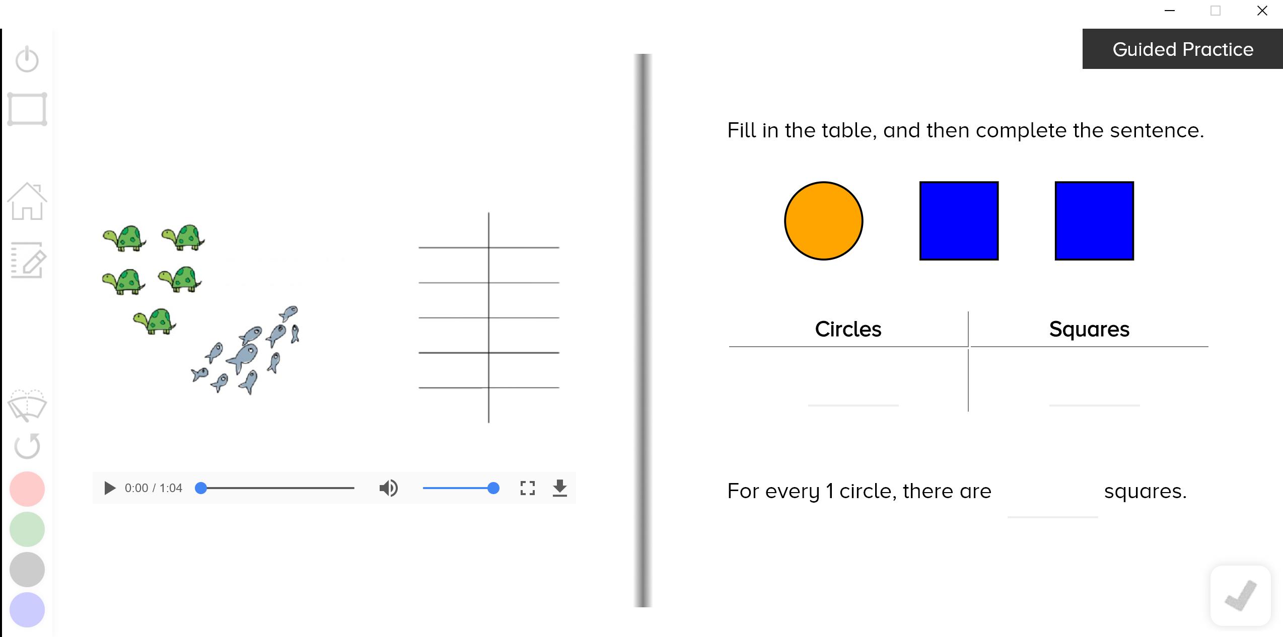 guzinta math ratio tables
